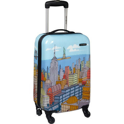 """Samsonite Luggage Cityscapes 20"""" Hardside Spinner Collection Expandable Suitcase"""