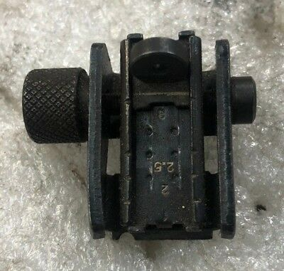 M1 Carbine Adjustable Rear Sight