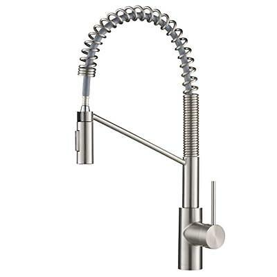 Kraus KPF-2631SFS Oletto Kitchen Faucet 21.75 in Spot Free Stainless Steel