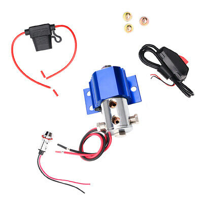 Front Brake Line Lock Blue Electric Control Hill Holder for Ford Mustang