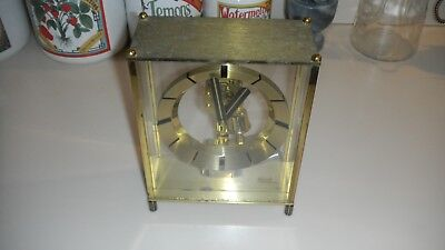 Vintage Kundo Electronic Kieninger & Obergfell Mantel Clock Germany - For Parts