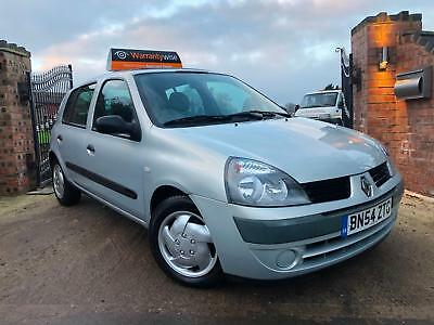 2004/54 RENAULT CLIO 1.4 16v EXPRESSION **12 MONTHS MOT**IMMACULATE CONDITION**