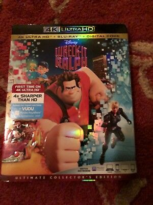 Wreck-It Ralph (4k Ultra HD/Blu-ray/Digital HD) no slipcover