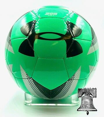 2 Autograph Soccer Ball Display Stand Holder Clear Acrylic BCW 5x1 Easel Prop