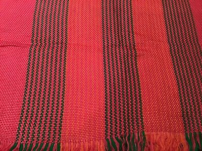 Gorgeous, Hand Woven Scarf Made By Local Women In Yunnan Province, China