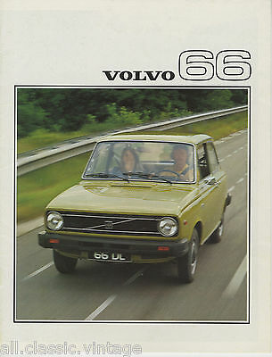 VOLVO - 66 brochure/prospekt/folder Dutch 1976