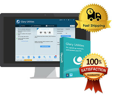 Glary Utilities Pro 5 Lifetime Licence Instant Delivery Digital Download Only!