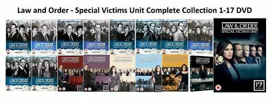 Law & And Order SVU Complete Series Seasons 1-17 Collection DVD Set