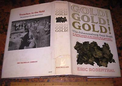 GOLD! GOLD! GOLD! by Rosenthal 1970 Rand Gold Rush South Africa Mining Rhodes
