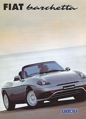 Fiat - Barchetta brochure/prospekt/folder German 1997