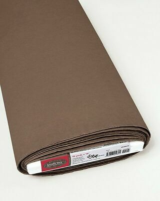 Kraft-tex Chocolate Paper Fabric - 19in wide