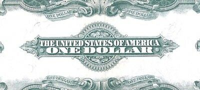 Absolutely Gorgeous Silver Certificate Horseblanket 1923 $1 Large Currency Note
