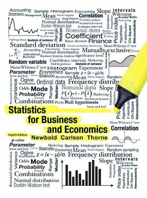 |e-Version| Statistics for Business and Economics 8th Global Ed Newbold et al.