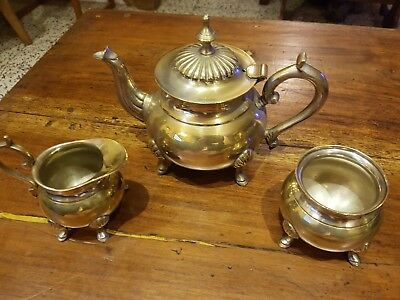 Three Piece Tea Set  - Epns