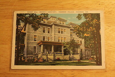 1932 Pc, Anderson,indiana.,sunset Hall,womens Dorm,anderson College