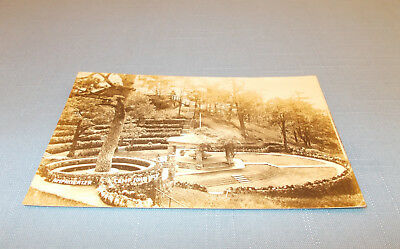 Baguio, Philippines Very Old Rppc Used Postcard - Camp John Hay