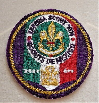 BSA - Boy Scouts of Mexico - Vintage Patch