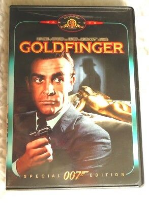 Goldfinger (DVD, 1999, Special Edition) 007 James Bond  SEAN Connery