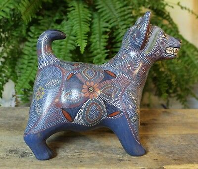 Colima Dog Tonala Pottery Jalisco Mexican Folk Art Great Gift for the Dog Lover!