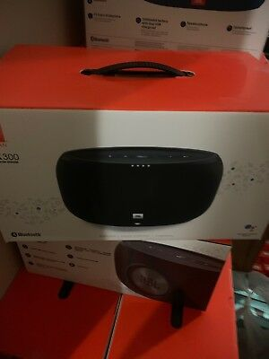 JBL - LINK 300 Wireless Speaker with Google Voice Assistant - Black - New sealed
