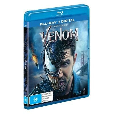 Venom Blu-Ray + Digital NEW SEALED