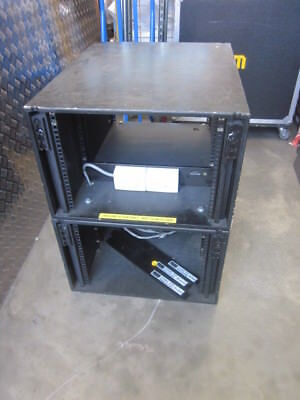 """last One""..rackmount...double Pro Audio Cabinets With 15 Amp Power Board.."