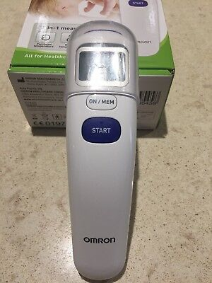 Omron MC-720 Non Contact Forehead Thermometer Instant One Second Reading