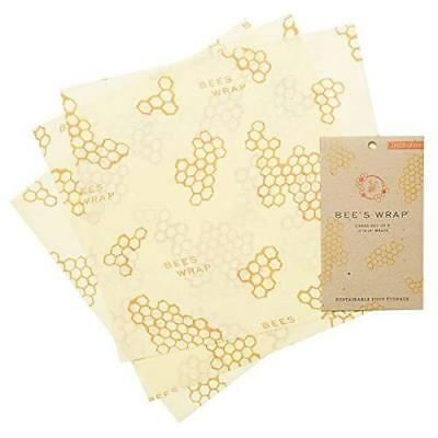 bee' S Wrap assortiti, confezione da 3, eco friendly reusable food Wraps,...