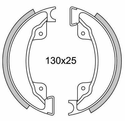 Brake Shoes Front Newfren Gf.1179 Honda Xl 500 R - Rc From 1982