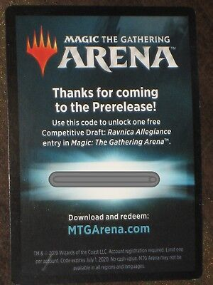 Magic the Gathering  ARENA competitive Draft code . Email Code Only. MTG