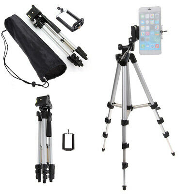 Camera Tripod Mount Stand Holder with Ball Head +Bag For iPone DSLR Camcorder