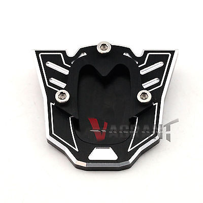 Fit For HONDA NC700/NC750 CB600F/900F/400 Side Kickstand Stand Extension Plate