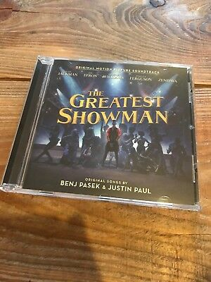 The Greatest Showman Soundtrack [CD] (2018) Like New