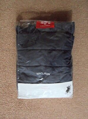 Maclaren Universal Footmuff Cosytoes In Charcoal With Storage Bag