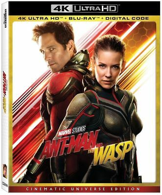 Marvel Disney ant-man and the wasp 4K & Blu-Ray NO DIGITAL