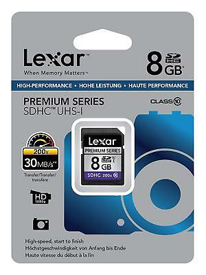 Lexar Professional Premium Series 8GB Class10 Memory Card