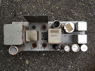 Western Electric 124B Vacuum Tube Amplifier 1954 Vintage