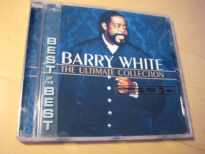 Barry White The Ultimate Collection von Barry White 2000 CD 18 Titel Topzustand