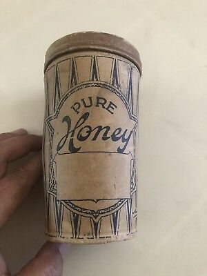 Vintage Collectable Pure Honey Wax Container Australian Containers Ltd Melbourne