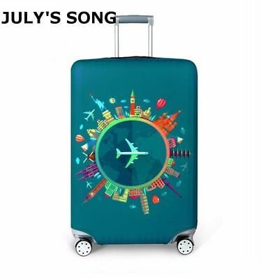 Thicker Travel Suitcase Cover Suitcase Dust Luggage Travel Accessories Elasticw