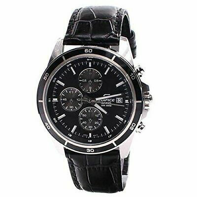 Casio Men's Analog Digital Business Watch EFR-526L-1A VUDF Leather