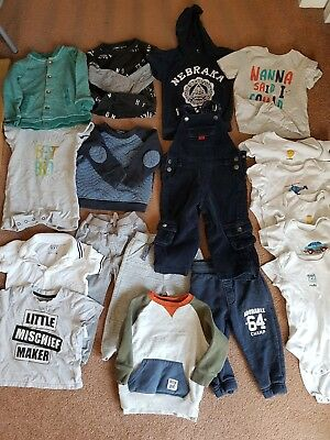 Baby boys clothes bundle 12-18 months