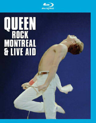 Queen Rock Montreal Concert & Live Aid Blu-ray New Freddie Mercury Region Free!