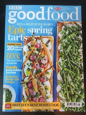 BBC GOOD FOOD Magazine Mai May 2018 Beer Can Duck 20 Minute Meals Spring Tarts