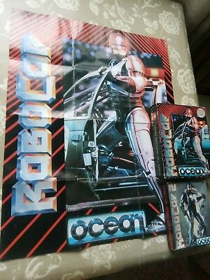 Robocop 1 and 2 Spectrum games with poster