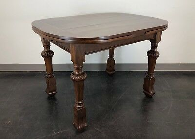 Antique Late 19th Century Walnut Refractory Pub Dining Table