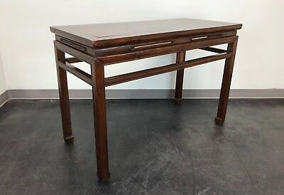 Antique Late 19th Century Chinese Hardwood Console / Sofa Table