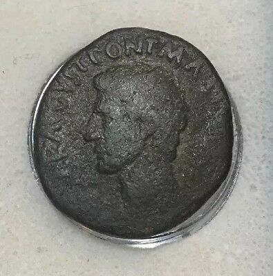 As of Augustus Rv. Large SC Moneyer Issue Salvius Otho Ancient Roman Coin RARE