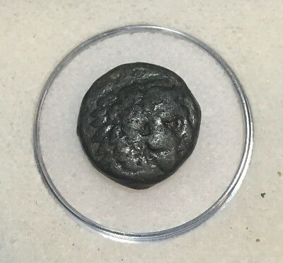 Rare Alexander III 'the Great' (336-323 BC) Greek Bronze Coin Beautiful 5.6 g