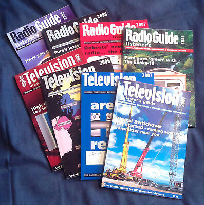 Television Viewer's Guide/Radio Listener's Guide: 2005-2008, 8 books